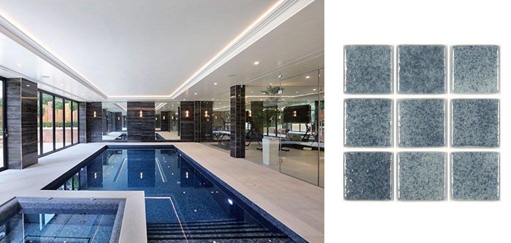 Mejor piscina interior de Reino Unido revestida con mosaico Hisbalit