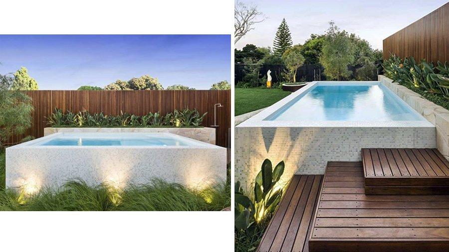 """Uma piscina revestida de Hisbalit premiada nos """"Awards of Excellence 2018"""" em Austrália"""
