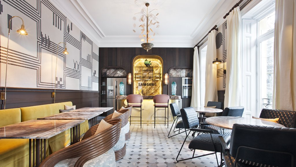 "Proyecto-hisbalit-Restaurante ""Samsung Club""-"