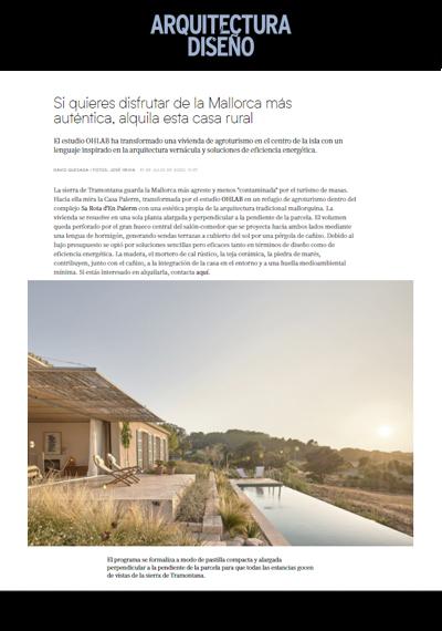 Arquitectura y Diseño (julio)