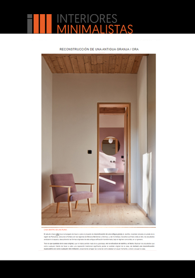 Interiores Minimalistas (agosto)