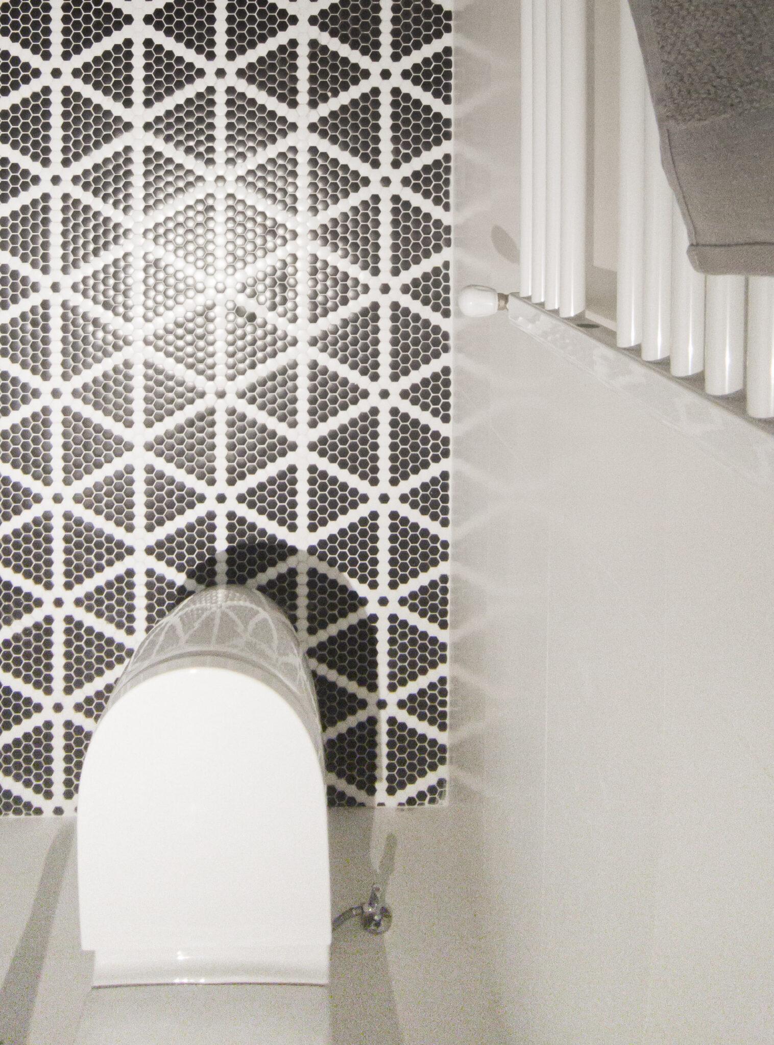 Proyecto-hisbalit-Baño adaptado con suelo Sonata | Ducha | Black & White-baNo sonata black white hotel arimune baNo adaptado 5