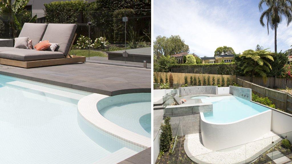 Como lograr piscinas con agua relajante te contamos el secreto qu mosaico debes elegir - Proyecto piscina privada ...